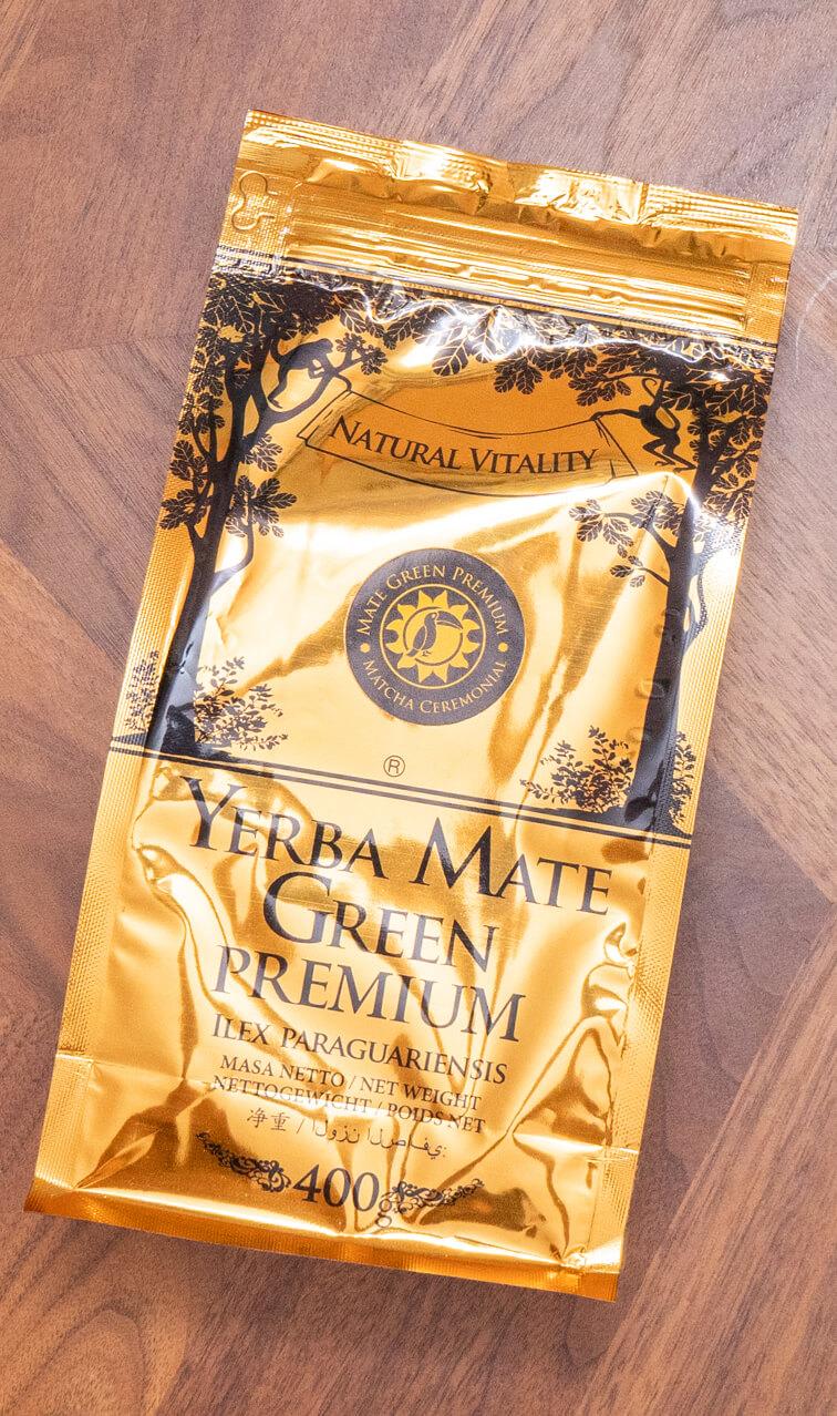 Mate Green - Premium Matcha Ceremonial | yerba mate z herbatÄ… matcha | 400g