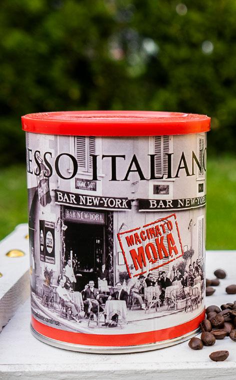 New York - Macinato Moka Espresso Italiano  | kawa mielona | 250g