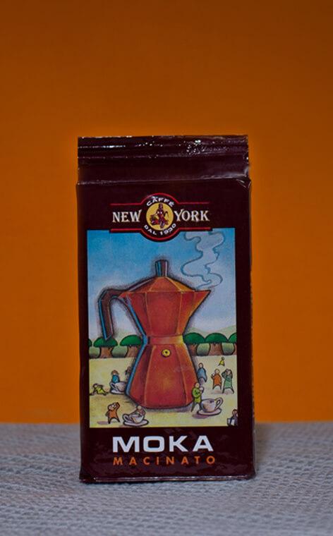 New York -  Macinato Moka | kawa mielona | 250g