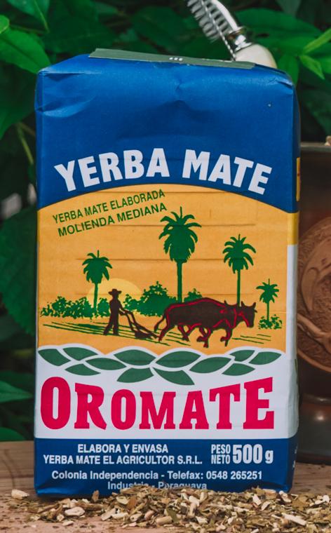Oromate - Elaborada Molienda Mediana   yerba mate   500g