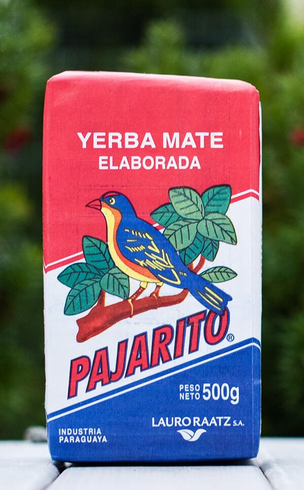 Pajarito - Elaborada Con Palo Tradicional | yerba mate | 500g