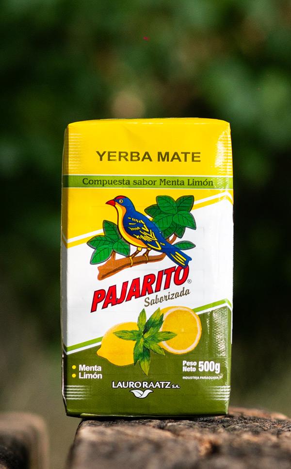 Pajarito - Menta Limon Saborizada | yerba mate miętowo-cytrynowa  | 500g