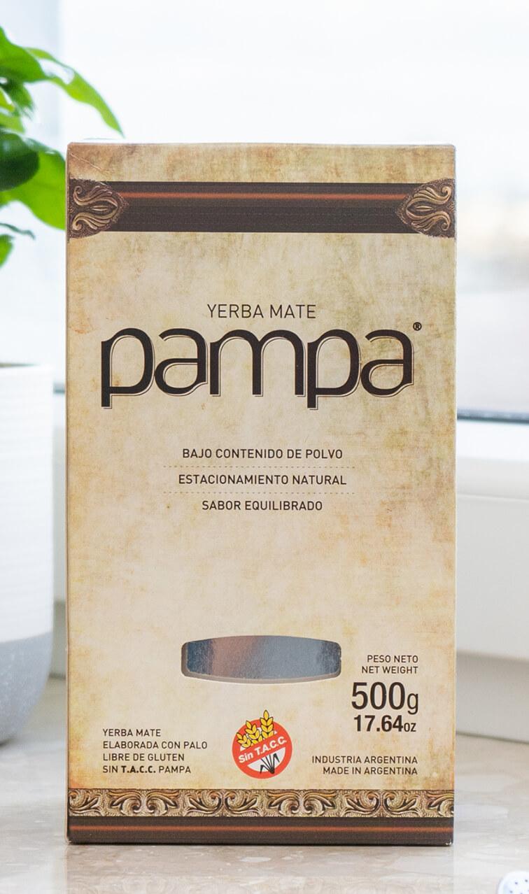 Pampa - Bajo Contenido de Polvo   yerba mate   500g