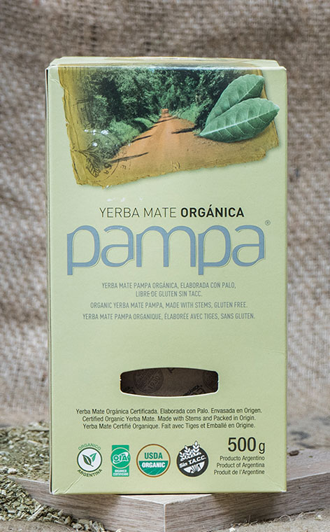 Pampa - Organica Elaborada Con Palo | yerba mate organiczna | 500g