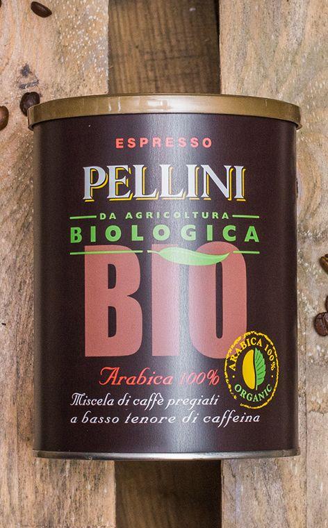 Pellini - Biologica 100% Arabica | organiczna kawa mielona | 250g