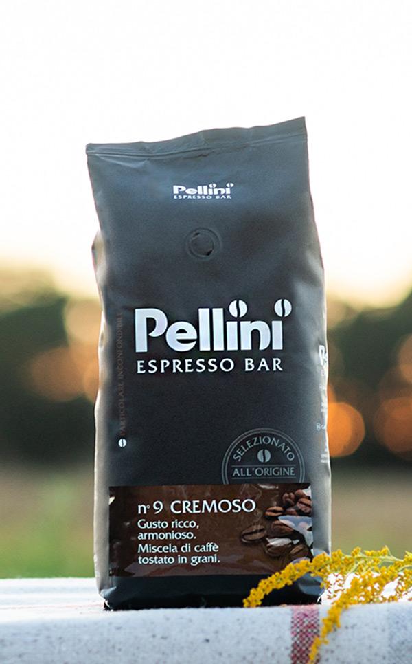 Pellini - Espresso Bar Cremoso n 9  | kawa ziarnista | 1kg