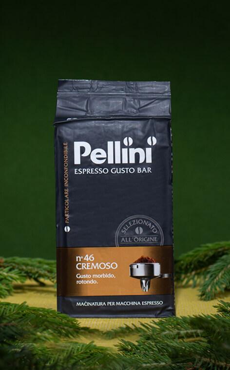 Pellini - Espresso Gusto Bar cremoso nr 46 | kawa mielona | 250g