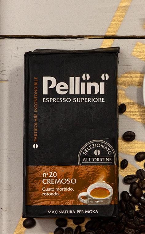 Pellini - Espresso Gusto Bar Cremoso nº20 | kawa mielona | 250g