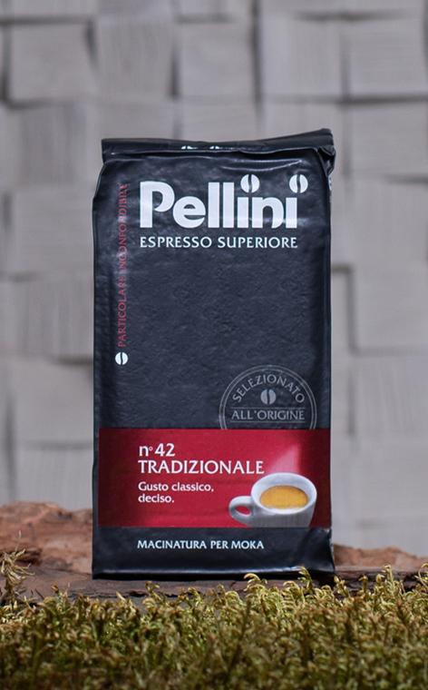 Pellini - Espresso Superiore Tradizionale nr 42 | kawa mielona | 250g