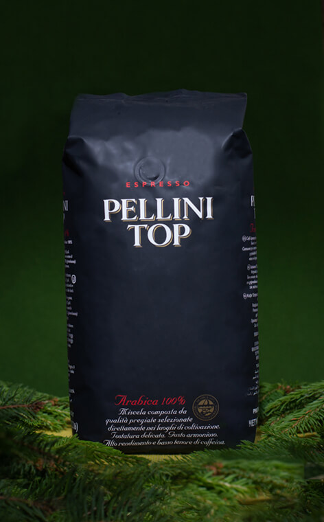 Pellini - TOP 100% Arabica | kawa ziarnista | 1kg