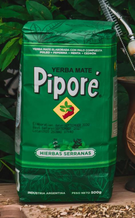 Pipore - Compuesta con Hierbas | yerba mate | 500g