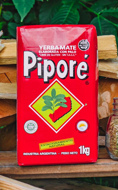 Pipore - Elaborada Con Palo Tradicional | yerba mate | 1kg