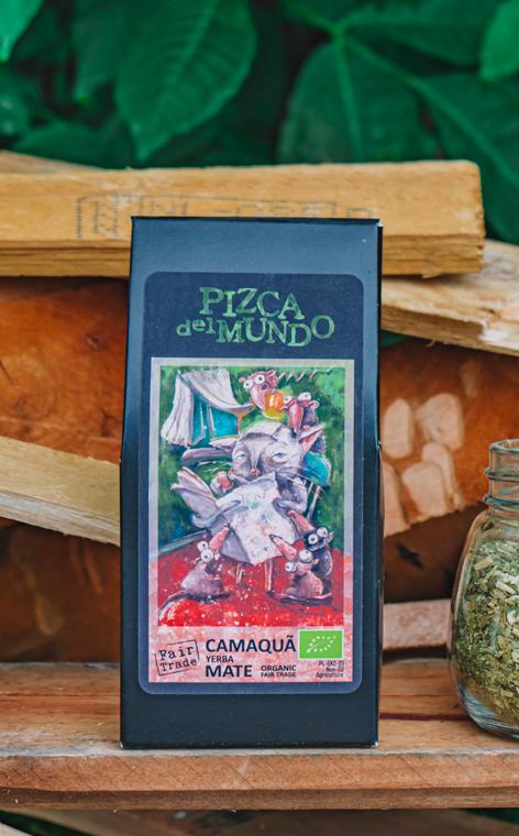 Pizca del Mundo - Camaqua  Organic Palona | yerba mate | 100g