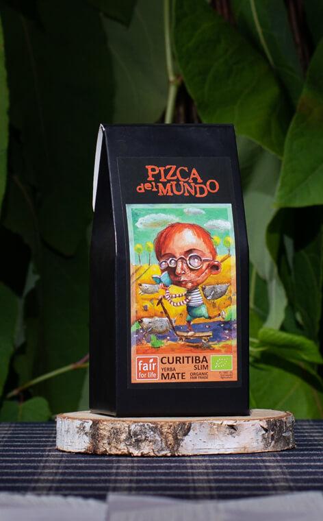 Pizca del Mundo - Curitiba slim Organic WspomagajÄ…ca Trawienie | yerba mate | 100g