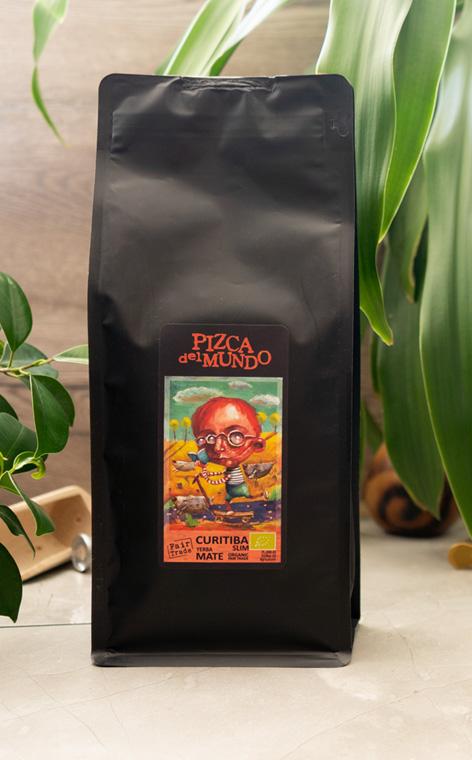 Pizca del Mundo - Curitiba slim Organic Wspomagająca Trawienie | yerba mate | 500g
