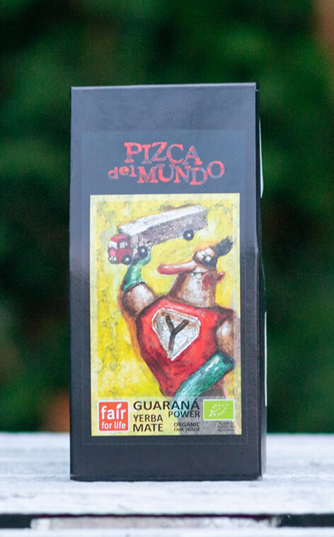 Pizca del Mundo - Guaraná Power Organic | yerba mate | 100g
