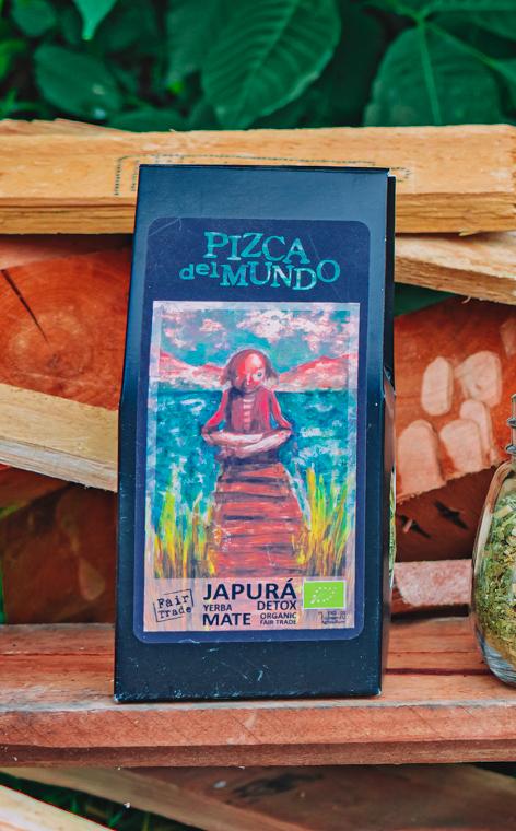 Pizca del Mundo - Japurá detox Organic Oczyszczająca | yerba mate | 100g