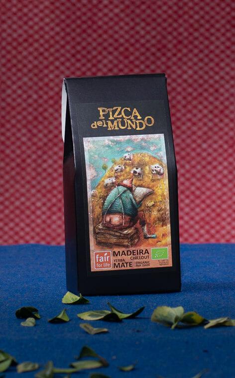 Pizca del Mundo - Madeira chillout Organic Relaksująca | yerba mate | 100g
