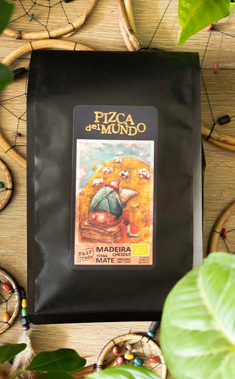 Pizca del Mundo - Madeira chillout Organic Relaksująca | yerba mate | 500g