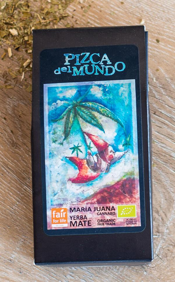 Pizca del Mundo - Maria Juana cannabis | yerba mate | 100g