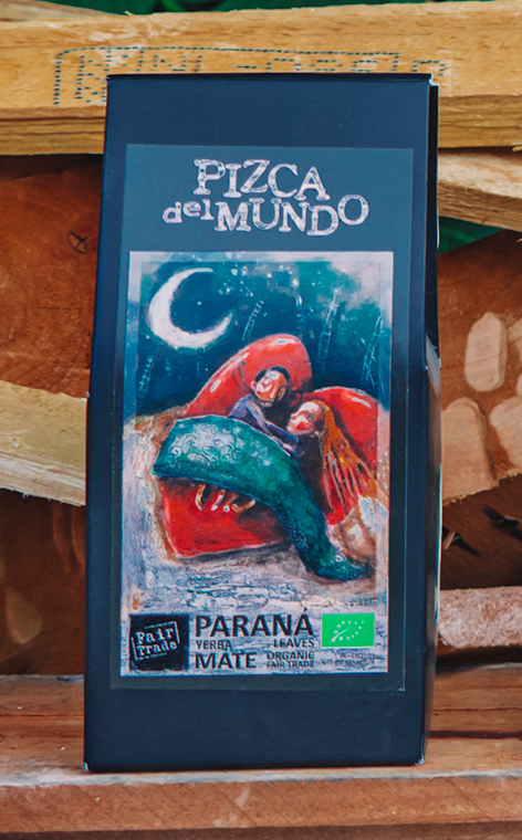 Pizca del Mundo - Parana Organic Liściasta | yerba mate | 75g