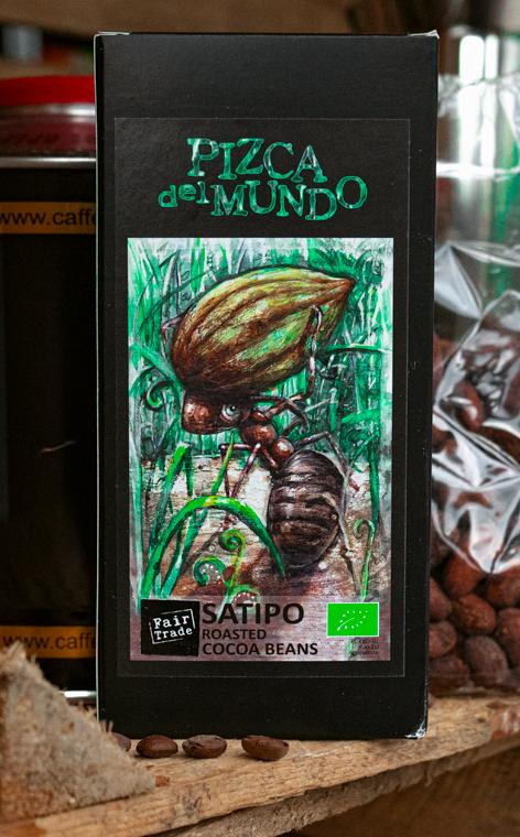Pizca del Mundo - Satipo   prażone ziarna kakao   100g