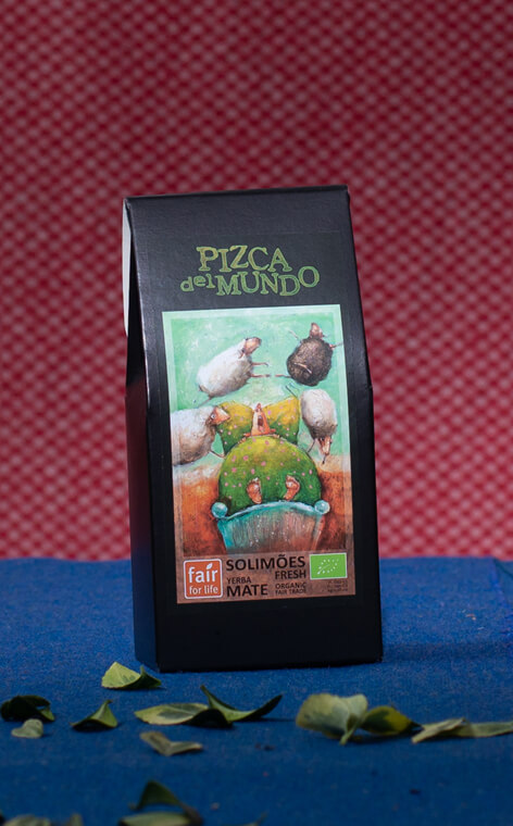 Pizca del Mundo - Solimoes fresh Organic Miętowa | yerba mate | 100g