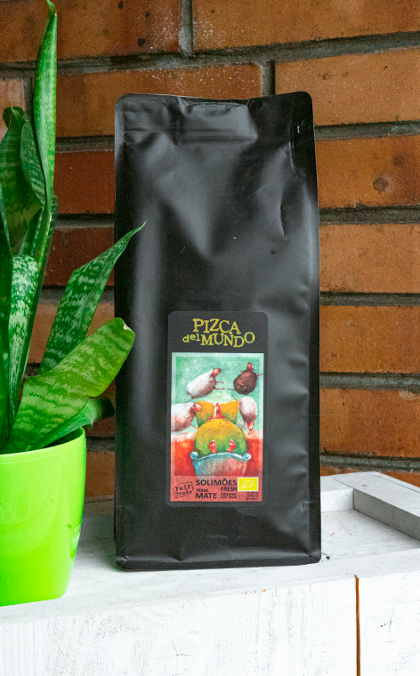 Pizca del Mundo - Solimoes fresh Organic MiÄ™towa | yerba mate | 500g
