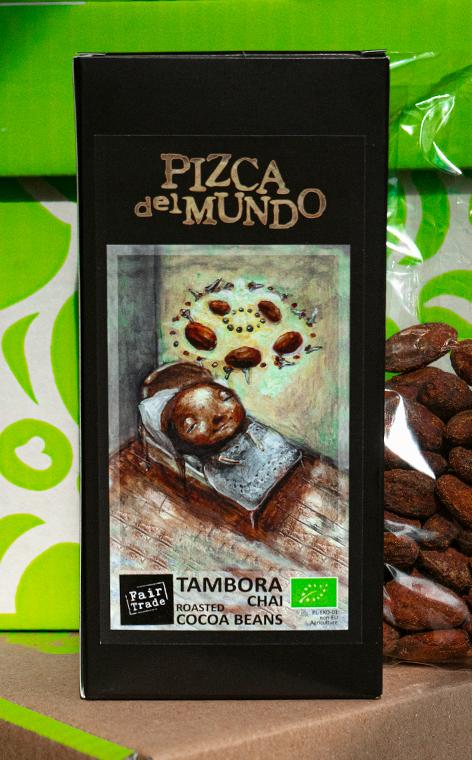 Pizca del Mundo - Tambora chai   prażone ziarna kakao   100g