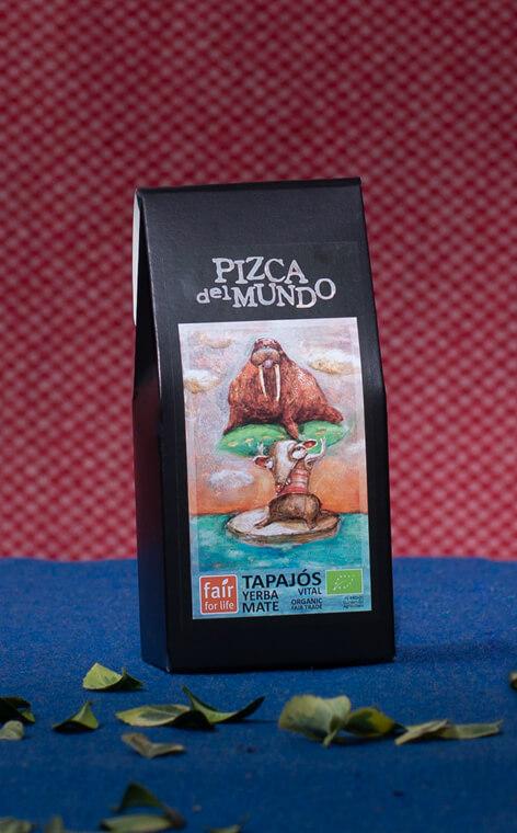 Pizca del Mundo - Tapajós vital Organic Wzmacniająca | yerba mate | 100g
