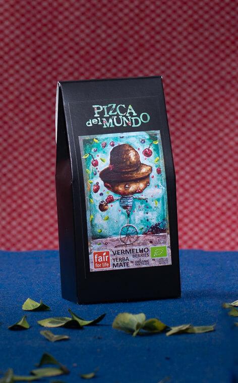 Pizca del Mundo - Vermelho berries Organic Owocowa | yerba mate | 100g