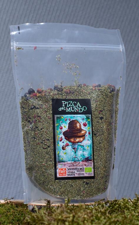 Pizca del Mundo - Vermelho berries Organic Owocowa | yerba mate | 500g