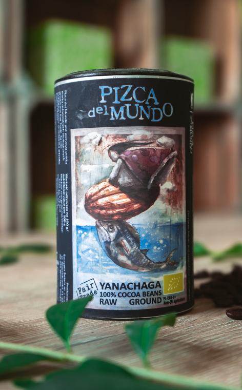 Pizca del Mundo - Yanachaga   surowe organiczne kakao   125g