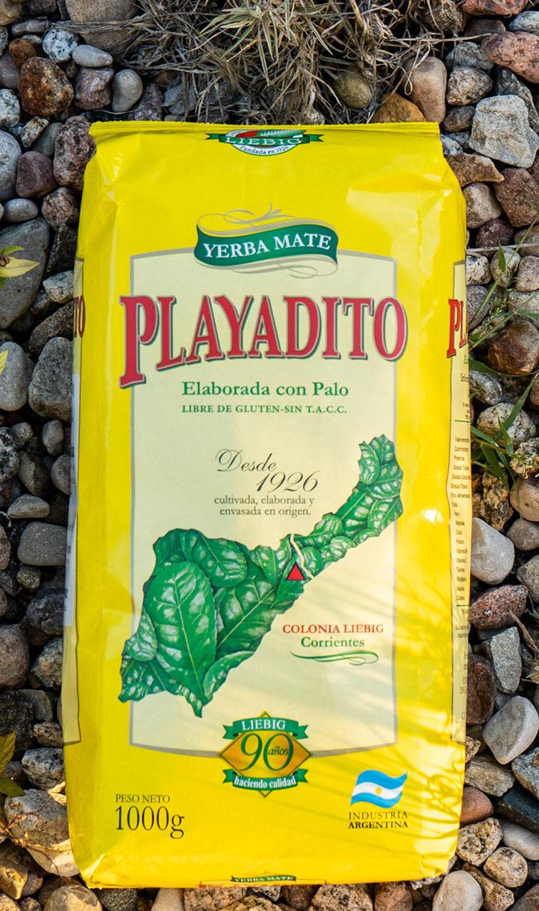 Playadito - Elaborada con Palo | yerba mate | 1kg