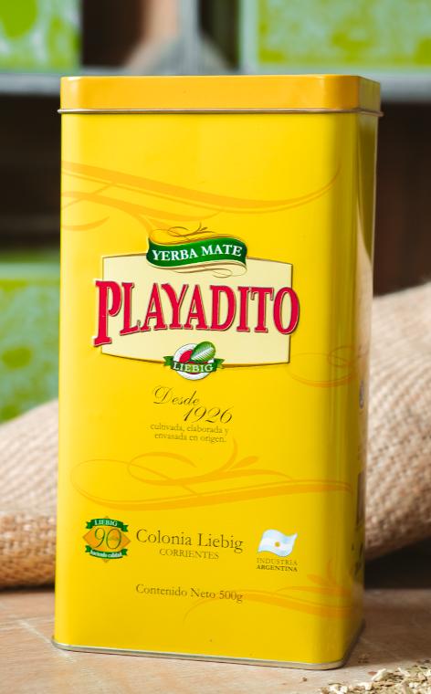 Playadito - Elaborada con Palo w puszce   klasyczna yerba mate   500g