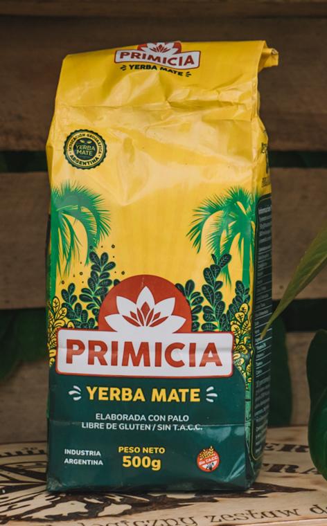 Primicia - Elaborada con Palo | tradycyjna yerba mate | 500g