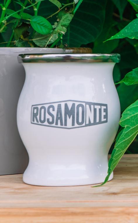 Matero - Rosamonte stalowe | białe