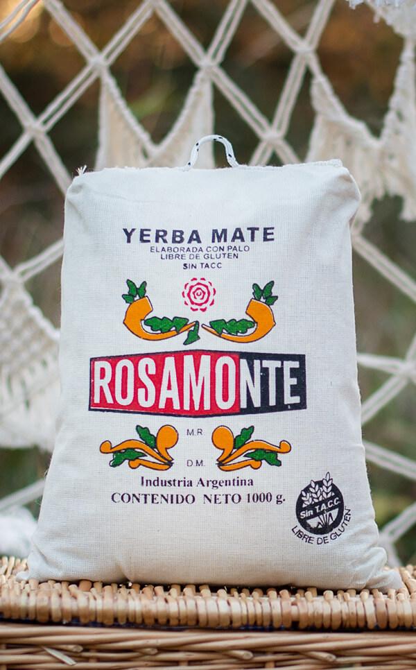 Rosamonte - Elaborada Con Palo worek lniany | yerba mate | 1kg