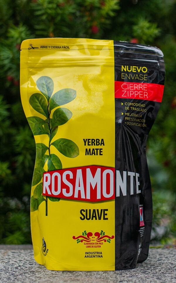 Rosamonte - Suave | Doypack | yerba mate | 500g