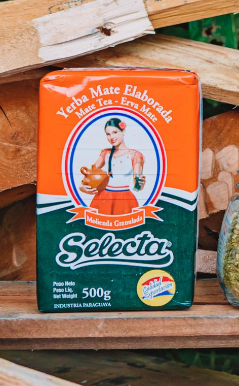 Selecta - Elaborada Con Palo Tradicional | yerba mate | 500g