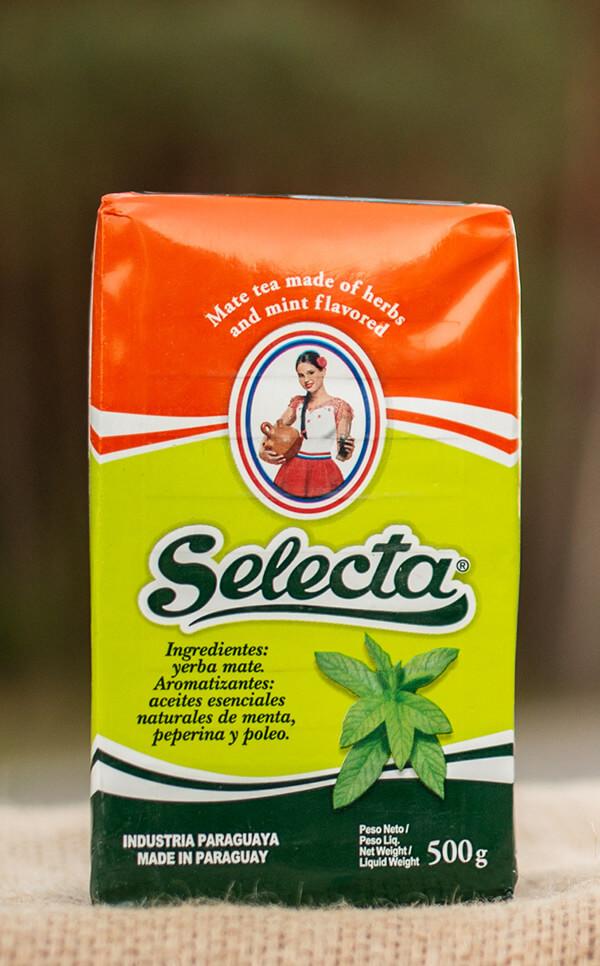 Selecta - Menta Peperina Poleo | yerba mate | 500g