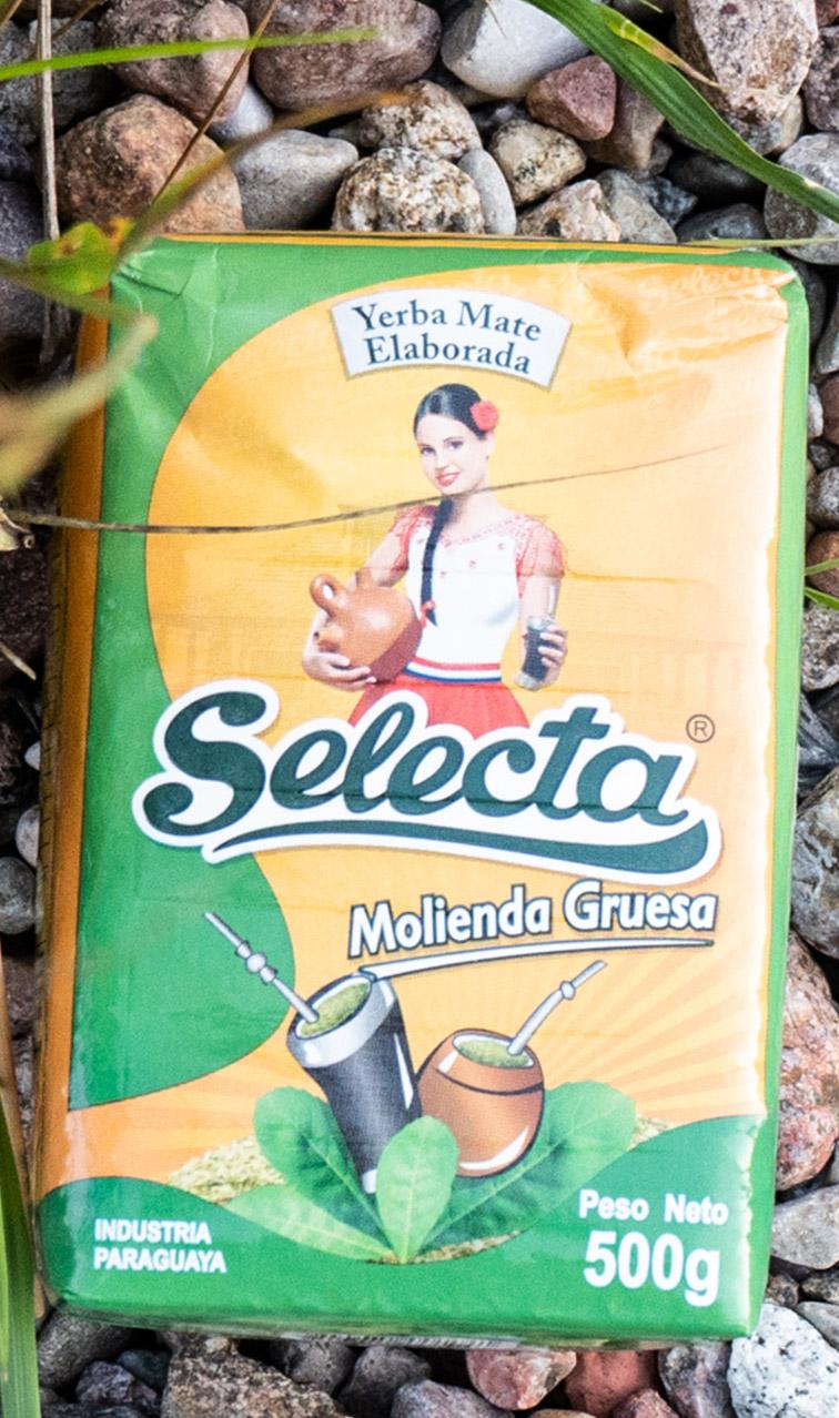 Selecta - Molienda Gruesa | yerba mate grubo mielona | 500g