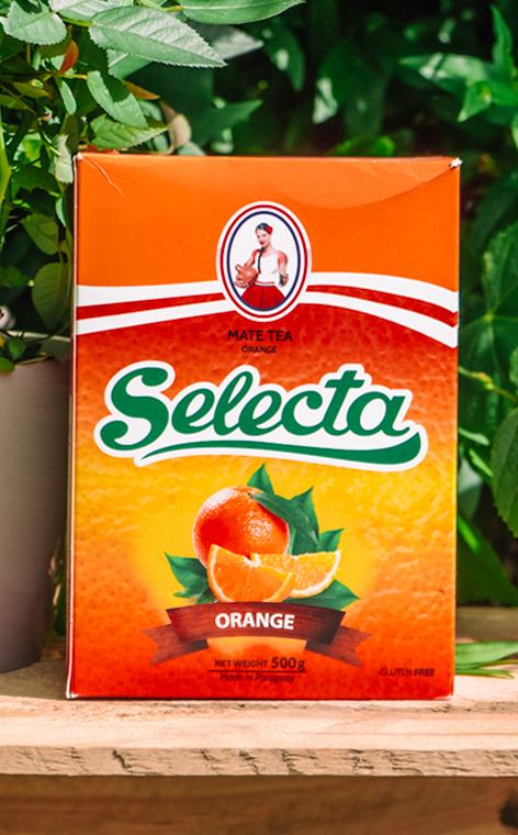 Selecta - Naranja | yerba mate pomarańczowa | 500g