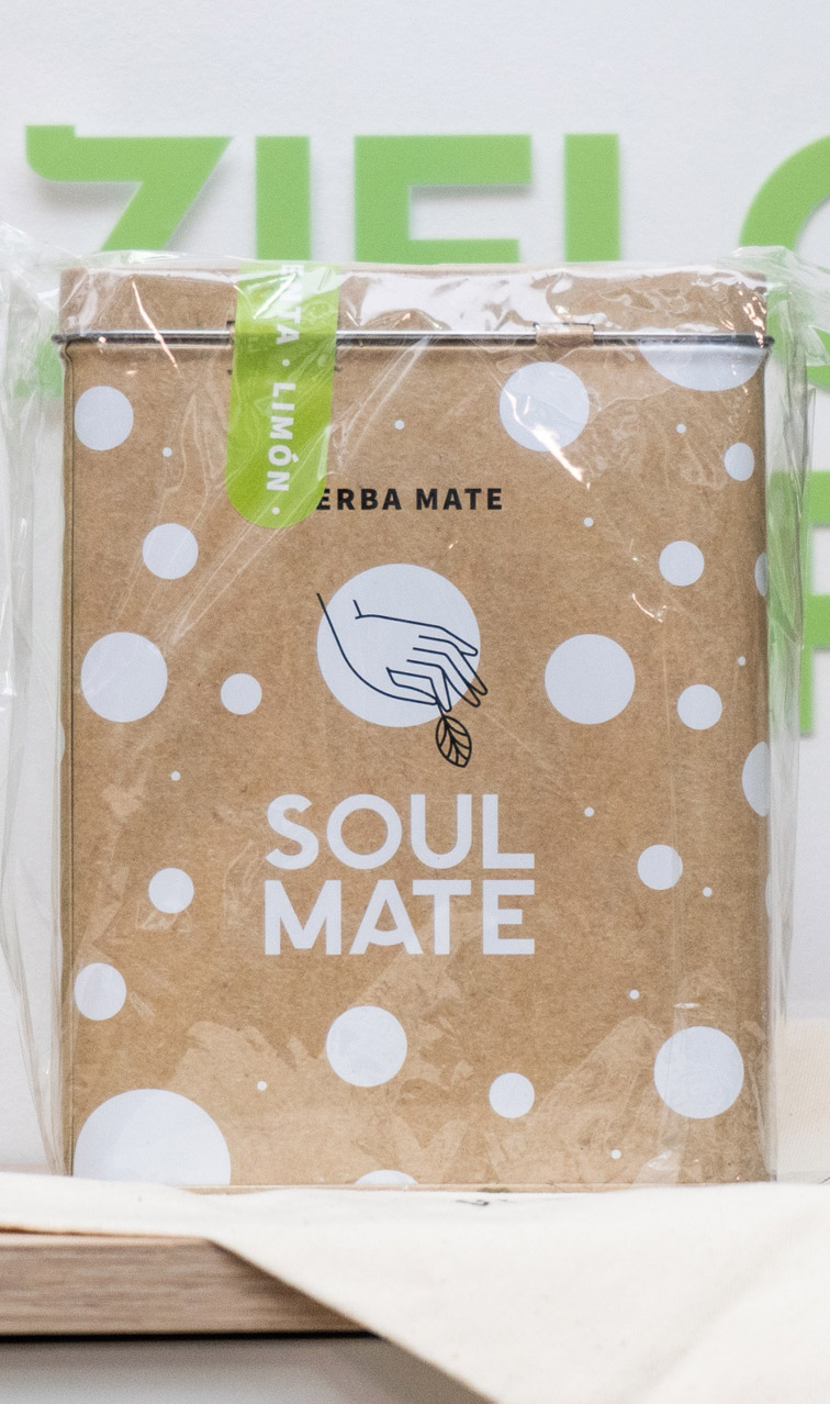 Soul Mate - Menta Limon w puszce | yerba mate | 500 g