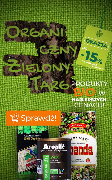 Organiczny Zielony Targ - produkty BIO w najlepszych cenach!
