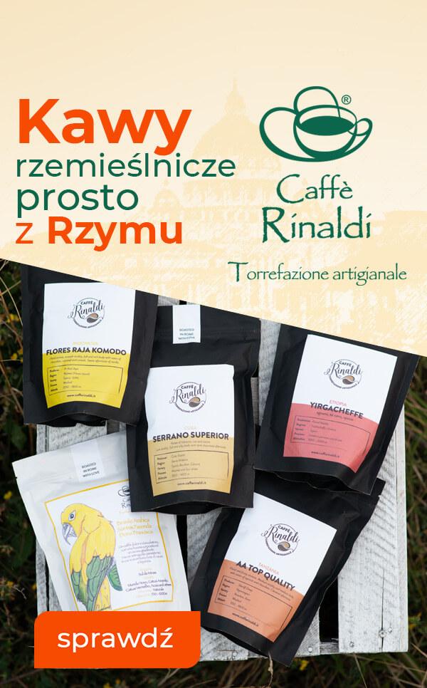 Kawy rzemieślnicze prosto z Rzymu - Poznaj Caffe Rinaldi na Zielonym Targu