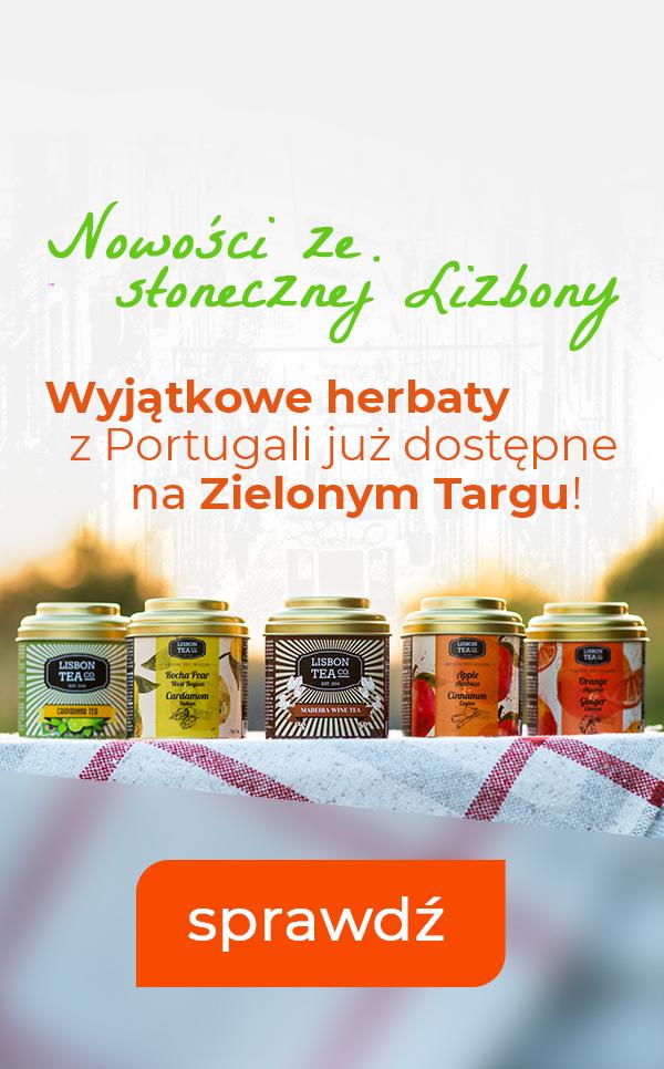 Nowość! Herbaty Lisbon Tea już na Zielonym Targu