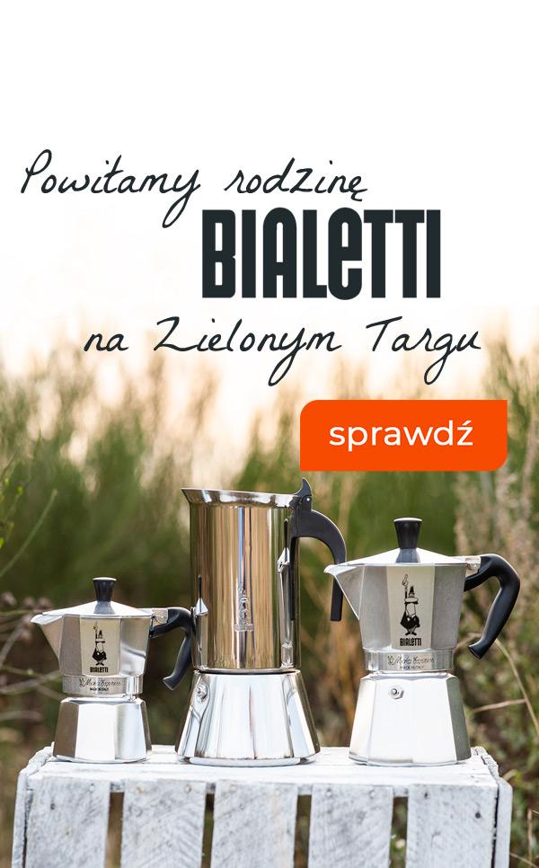 Witamy rodzinę produktów Bialetti na Zielonym Targu