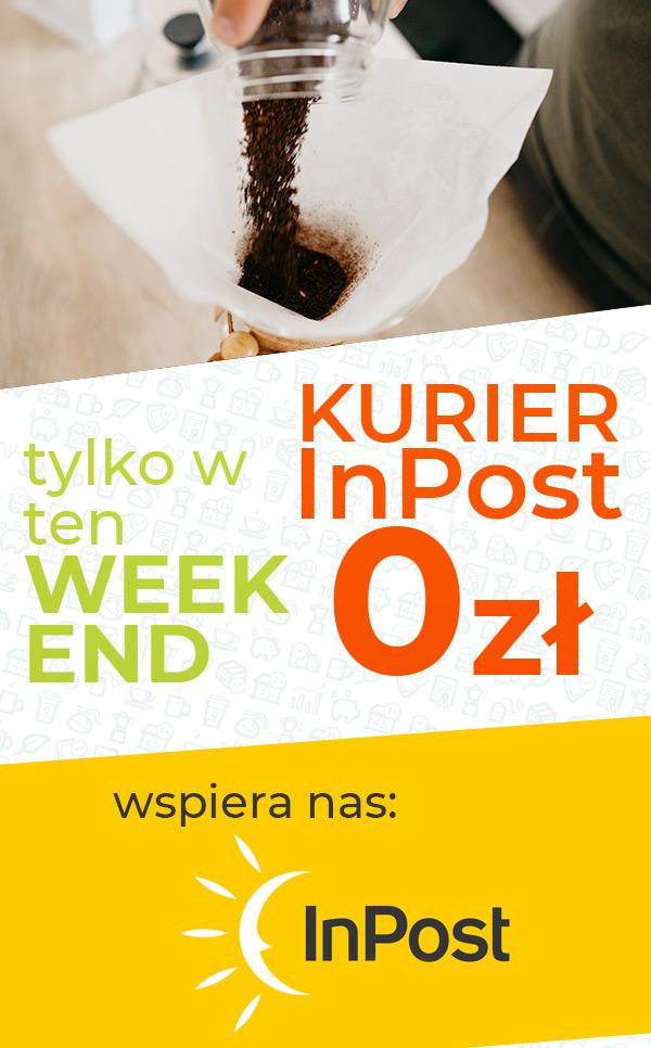 Tylko w ten Weekend - Dostawa kurierem InPost 0zł!
