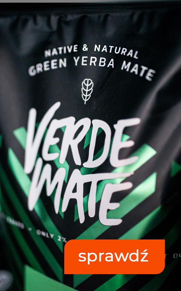 Yerba Mate VERDE MATE już dostępne w sklepie!